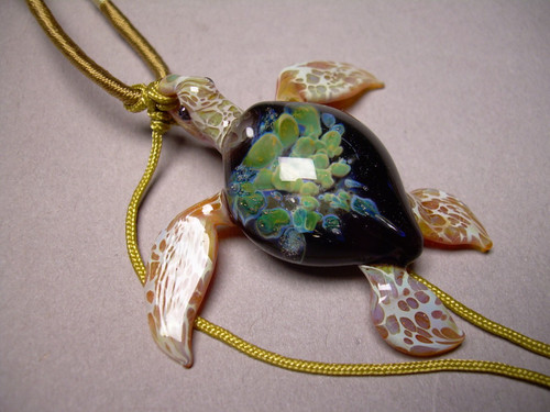 Tide pool series Sea Turtle Pendant