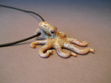 Glass Octopus shown with cord for Men