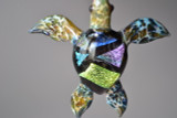 Sea Turtle blown glass jewelry