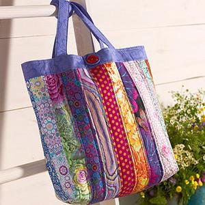 Patchwork Tote Bag - Free Pattern