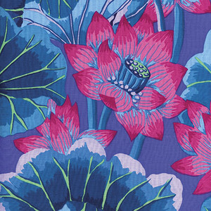 Kaffe Fassett Lake Blossoms GP93.blue