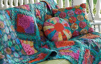 Jewel Frames Quilt - free pattern