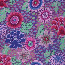 Kaffe Fassett Dream - purple Spring 2015
