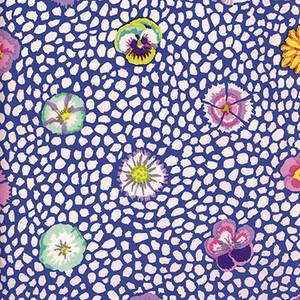 Guinea Flower Colour: Blue Kaffe Fassett Classic