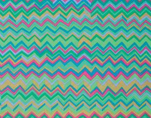Zig Zag Brandon Mably Colour: aqua