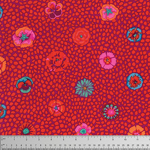 Kaffe Fassett Guinea Flower PWGP059.Red