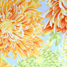 Philip Jacobs Japanese Chrysanthemum Yellow