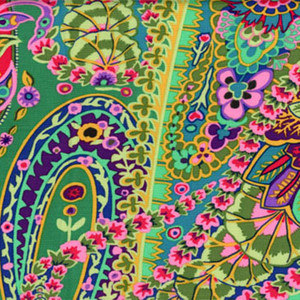Kaffe Fassett Paisley Jungle GP60.Green