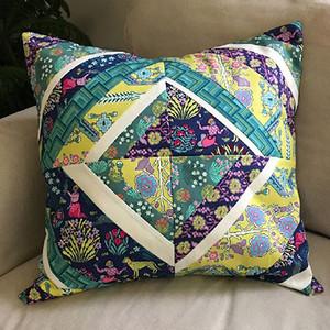 Splendor Patchwork Pillow by Amy Butler