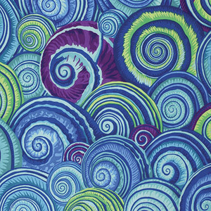 Spiral Shells Philip Jacobs PWPJ73.Blue