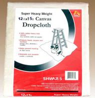 12x15 Canvas Drop Cloth