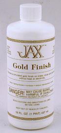 JAX Gold Finish