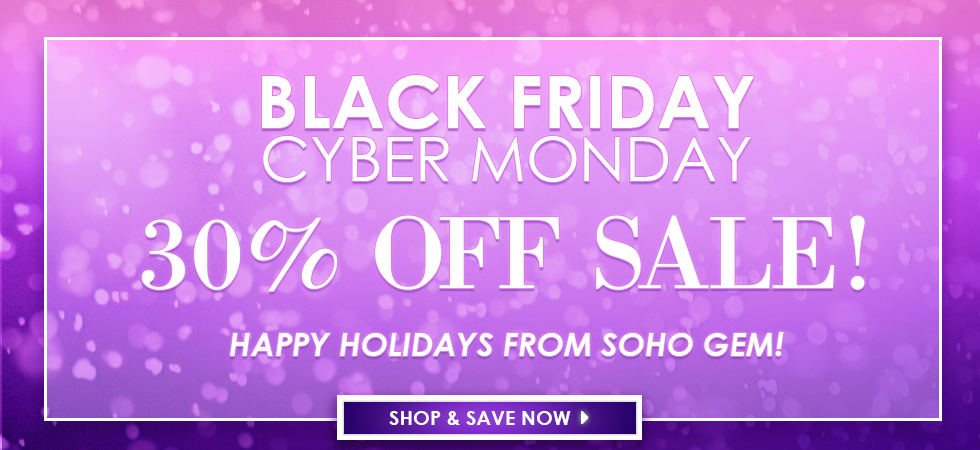 Jewelry Black friday sale cyber monday