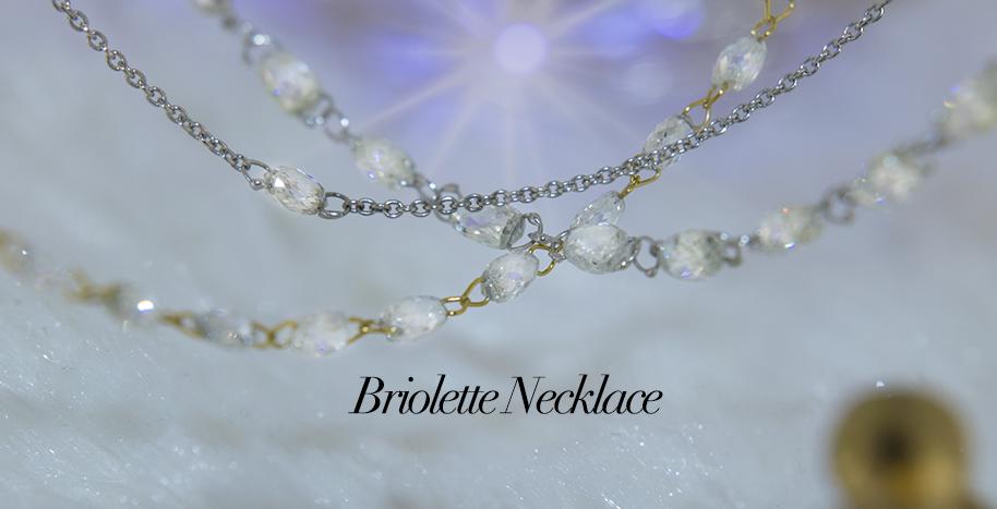 Briolette Necklaces
