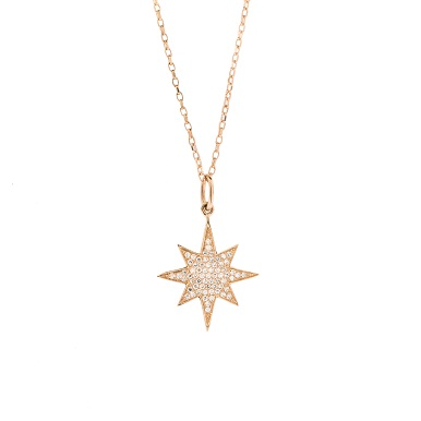 Dainty diamond jewelry online soho gem fine jewelry boutique gold star pendant necklace online mozeypictures Image collections
