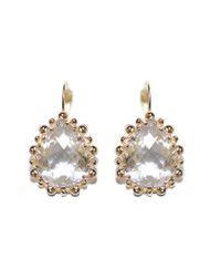 Anzie Dew Drop Pear Drop Earrings | Bridal Earrings