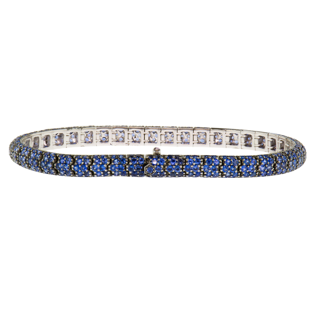 jewelry bracelets platinum peretti hei sapphire color fit bracelet the in yard ed constrain wid with elsa by id fmt sapphires