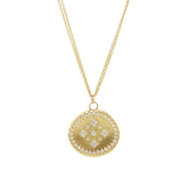Chefridi Gold Diamond Pendant