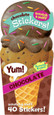 SCRATCH-AND-SNIFF STICKERS - ICE CREAM - CHOCOLATE