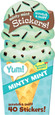 SCRATCH-AND-SNIFF STICKERS - ICE CREAM - MINT CHIP