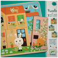 DJECO - 3 LAYER PUZZLE - RABBIT COTTAGE