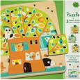 DJECO - 3 LAYER PUZZLE - TREE HOUSE