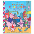 EEBOO - A BOOK TO COLOR - PIGS IN THE CITY