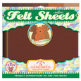 EEBOO - FELT SHEETS - BEAR