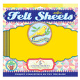 EEBOO - FELT SHEETS - CANARY