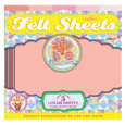 EEBOO - FELT SHEETS - SEASHELL