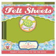EEBOO - FELT SHEETS - TURTLE