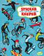BIG STICKER BOOK - BOARDS & BIKES