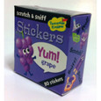 SCRATCH-AND-SNIFF STICKERS ON A ROLL - GRAPE