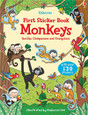 USBORNE - FIRST STICKER BOOK - MONKEYS