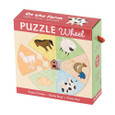 MUD PUPPY - PUZZLE WHEEL - ON THE FARM