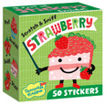 SWEET SCRATCH-AND-SNIFF STICKERS ON A ROLL - STRAWBERRY