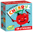 SWEET SCRATCH-AND-SNIFF STICKERS ON A ROLL - CHERRY