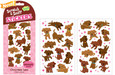SCRATCH-AND-SNIFF STICKERS - CHOCOLATE LABS