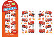 SCRATCH-AND-SNIFF STICKERS - CHERRY FIRE TRUCKS