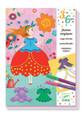DJECO -MAGIC FELT TIPS - MARIE'S PRETTY DRESSES