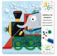 DJECO - POMPOM PICTURES - ALL ABOARD