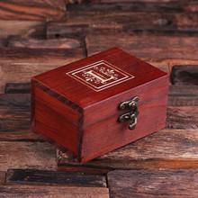 Groomsmen Bridesmaid Gift Rectangular Keepsake Jewery Box