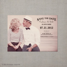 Cadence - 4x5.5 Vintage Save the Date Magnet