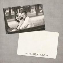 Annabelle - 4x6 Vintage Wedding Thank You Card
