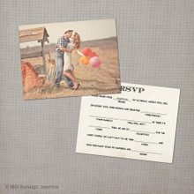 Monica - 4.25x5.5 Wedding RSVP Card