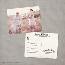 Jessa - 4.25x5.5 Vintage RSVP Postcard