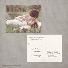 Sidney - 4.25x5.5 Vintage RSVP Postcard