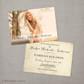 Vintage Graduation photo Invitation Announcement card postcard Alisha 1 - 5x7 Vintage Graduation Invitation Announcement