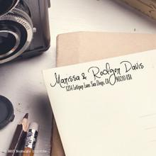 Marissa Address Stamp