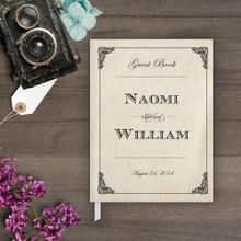 Guestbook - Elegant Frame Guestbook (gb0029)